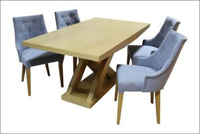 manhattan stół z krzesłami
